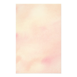 Abstract Watercolor Background - Orange Custom Stationery