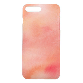 Abstract Watercolor Background - Orange iPhone 8 Plus/7 Plus Case