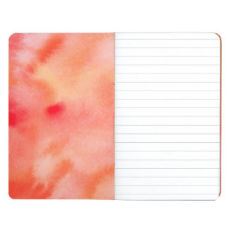 Abstract Watercolor Background - Orange Journals
