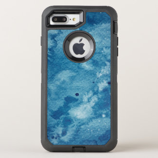 Abstract Watercolor Background OtterBox Defender iPhone 8 Plus/7 Plus Case