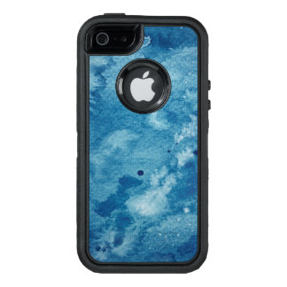 Abstract Watercolor Background OtterBox Defender iPhone Case