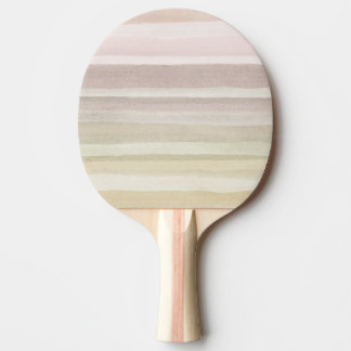 Abstract watercolor background ping pong paddle