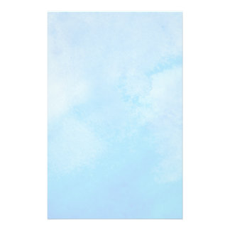 Abstract Watercolor Background Stationery