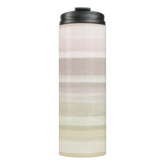Abstract watercolor background thermal tumbler