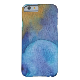 Abstract Watercolor Barely There iPhone 6 Case