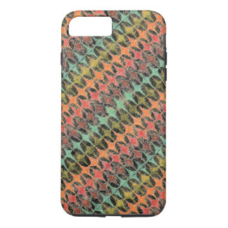 Abstract Watercolor Geometric Design 59-2 Case