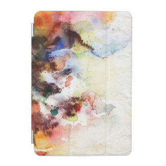 Abstract watercolor grunge texture with paint iPad mini cover