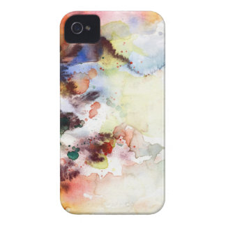 Abstract watercolor grunge texture with paint iPhone 4 Case-Mate cases