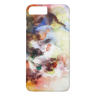Abstract watercolor grunge texture with paint iPhone 8 plus/7 plus case