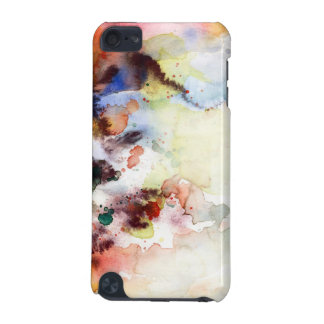 Abstract watercolor grunge texture with paint iPod touch 5G case