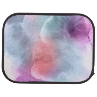 Abstract watercolor hand painted background 10 car mat