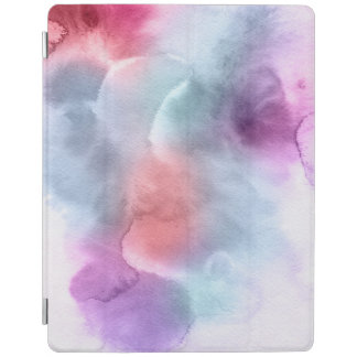Abstract watercolor hand painted background 10 iPad cover