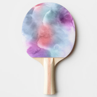 Abstract watercolor hand painted background 10 ping pong paddle