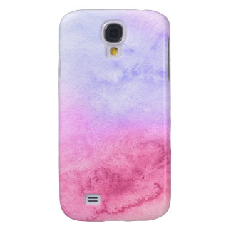 Abstract watercolor hand painted background 11 galaxy s4 case