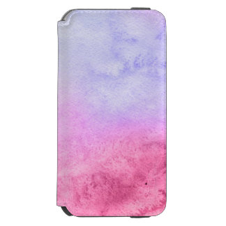 Abstract watercolor hand painted background 11 incipio watson™ iPhone 6 wallet case