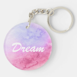 Abstract watercolor hand painted background 11 key ring