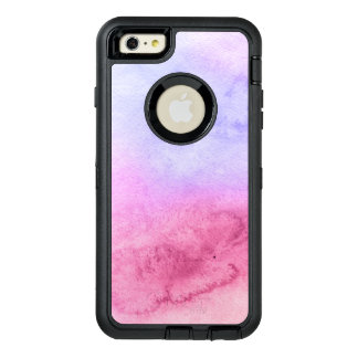 Abstract watercolor hand painted background 11 OtterBox defender iPhone case