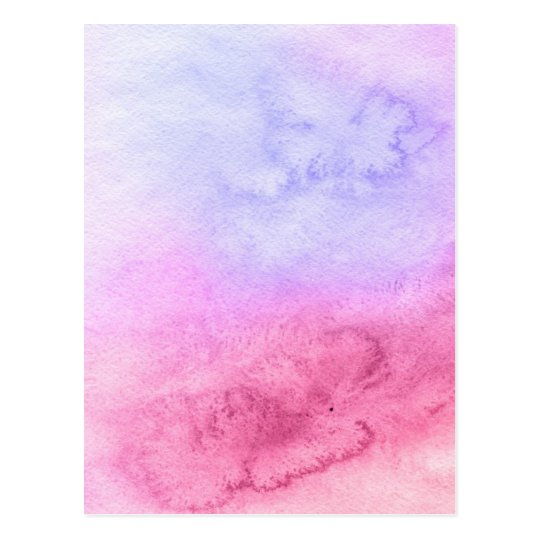 Abstract watercolor hand painted background 11 postcard