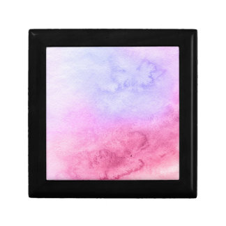 Abstract watercolor hand painted background 11 small square gift box