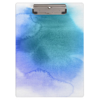 Abstract watercolor hand painted background 12 clipboard