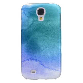 Abstract watercolor hand painted background 12 galaxy s4 case