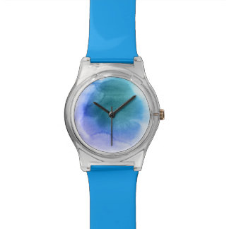 Abstract watercolor hand painted background 12 watch