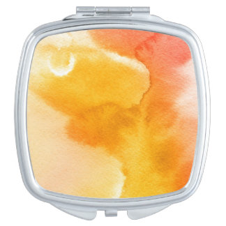 Abstract watercolor hand painted background 13 makeup mirror