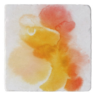 Abstract watercolor hand painted background 13 trivet