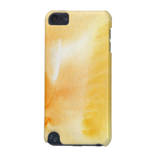 Abstract watercolor hand painted background 14 iPod touch (5th generation) case