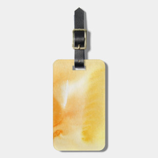 Abstract watercolor hand painted background 14 luggage tag