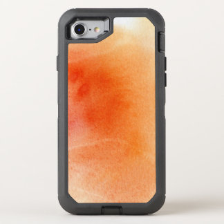 Abstract watercolor hand painted background 15 OtterBox defender iPhone 8/7 case