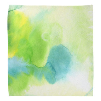 Abstract watercolor hand painted background 16 bandana