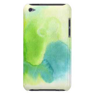 Abstract watercolor hand painted background 16 Case-Mate iPod touch case