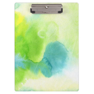 Abstract watercolor hand painted background 16 clipboard