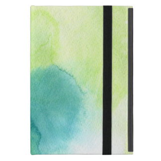 Abstract watercolor hand painted background 16 cover for iPad mini