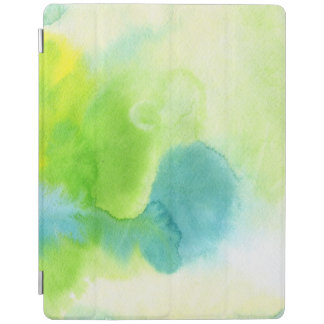 Abstract watercolor hand painted background 16 iPad cover