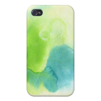 Abstract watercolor hand painted background 16 iPhone 4/4S covers
