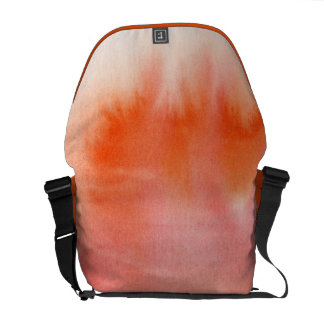 Abstract watercolor hand painted background 17 commuter bag