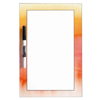 Abstract watercolor hand painted background 17 dry erase board