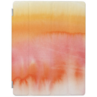 Abstract watercolor hand painted background 17 iPad cover