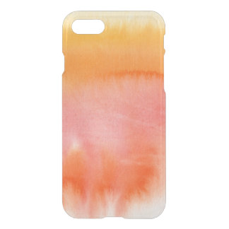 Abstract watercolor hand painted background 17 iPhone 7 case
