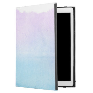 "Abstract watercolor hand painted background 18 iPad pro 12.9"" case"
