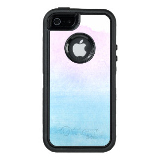 Abstract watercolor hand painted background 18 OtterBox iPhone 5/5s/SE case