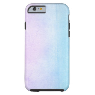 Abstract watercolor hand painted background 18 tough iPhone 6 case