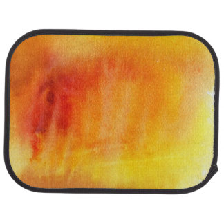 Abstract watercolor hand painted background 19 car mat
