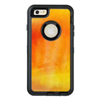 Abstract watercolor hand painted background 19 OtterBox iPhone 6/6s plus case