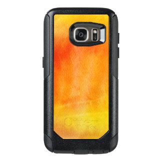 Abstract watercolor hand painted background 19 OtterBox samsung galaxy s7 case