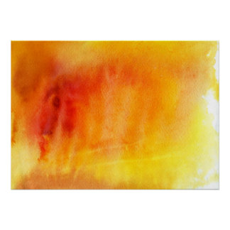 Abstract watercolor hand painted background 19 poster