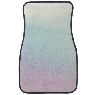 Abstract watercolor hand painted background 21 car mat