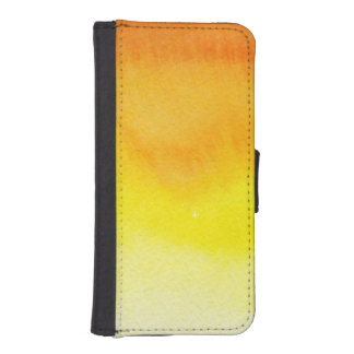 Abstract watercolor hand painted background 2 2 iPhone SE/5/5s wallet case